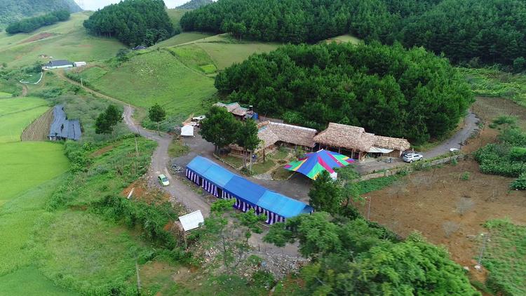 Khu du lịch rừng thông Hua Tạt   Homestay Tráng A Sếnh (Vân Hồ, Sơn La)